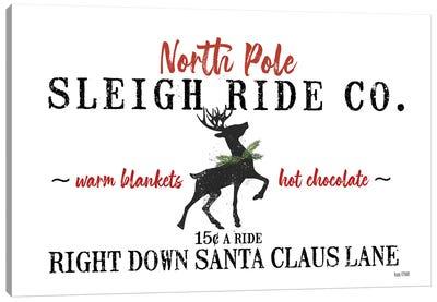 Sleigh Rides Canvas Art Print
