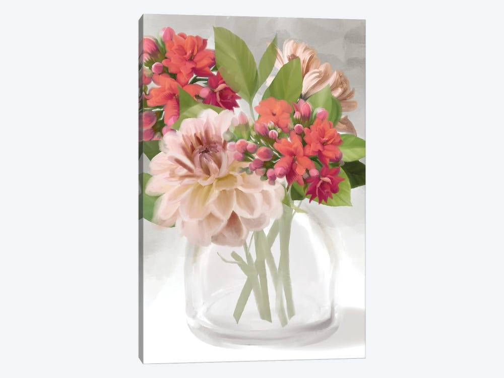 Dahlia Bouquet by House Fenway 1-piece Canvas Art Print