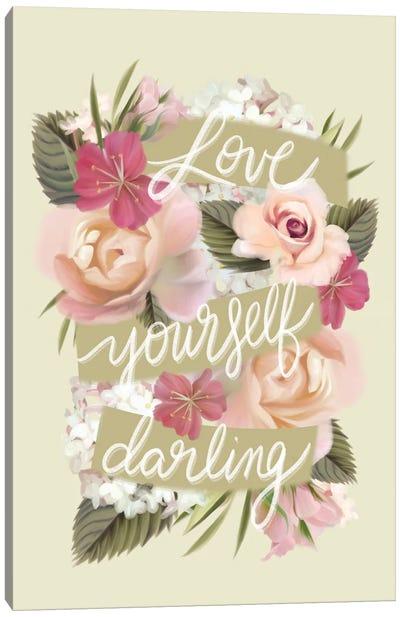 Love Yourself Darling Canvas Art Print