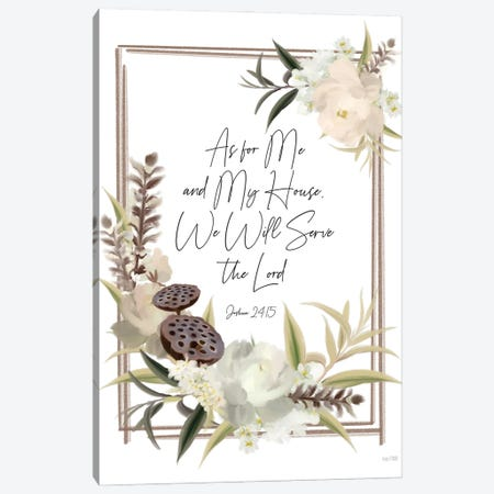 Boho As For Me Canvas Print #HFE53} by House Fenway Canvas Art
