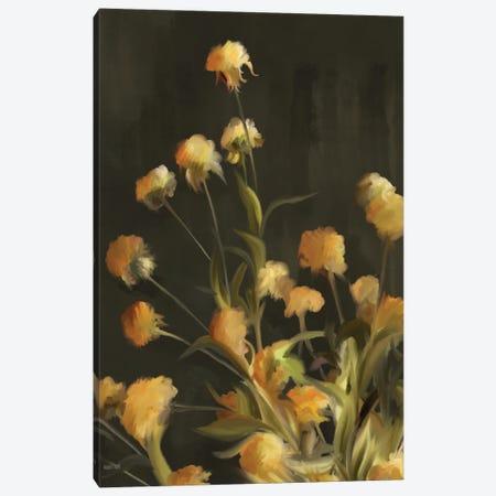 Golden Yarrow Canvas Print #HFE57} by House Fenway Canvas Art Print