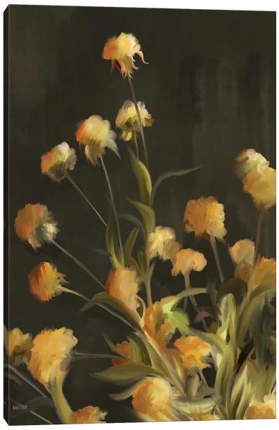 Golden Yarrow Canvas Art Print