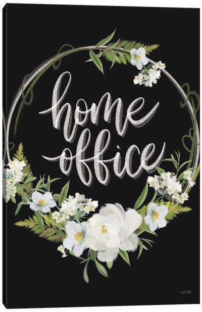 Home Office Canvas Art Print