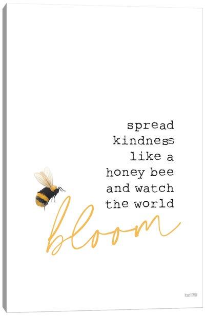 Spread Kindness Canvas Art Print