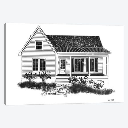Farmhouse I Canvas Print #HFE6} by House Fenway Canvas Wall Art