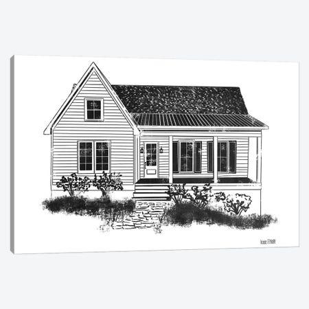 Farmhouse I Canvas Print #HFE6} by House Fenway Canvas Wall Art