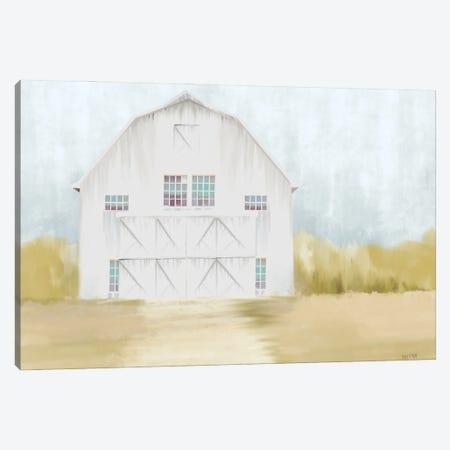 Autumn Barn Canvas Print #HFE72} by House Fenway Canvas Art
