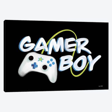 Gamer Boy Canvas Print #HFE78} by House Fenway Canvas Art