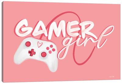 Gamer Girl Canvas Art Print