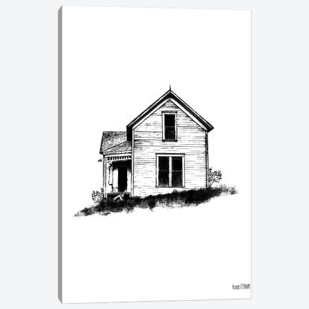 Farmhouse II Canvas Print #HFE7} by House Fenway Canvas Artwork