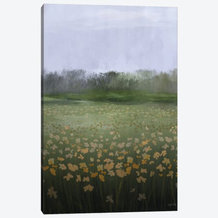 Spring Morning Canvas Print #HFE86} by House Fenway Canvas Art