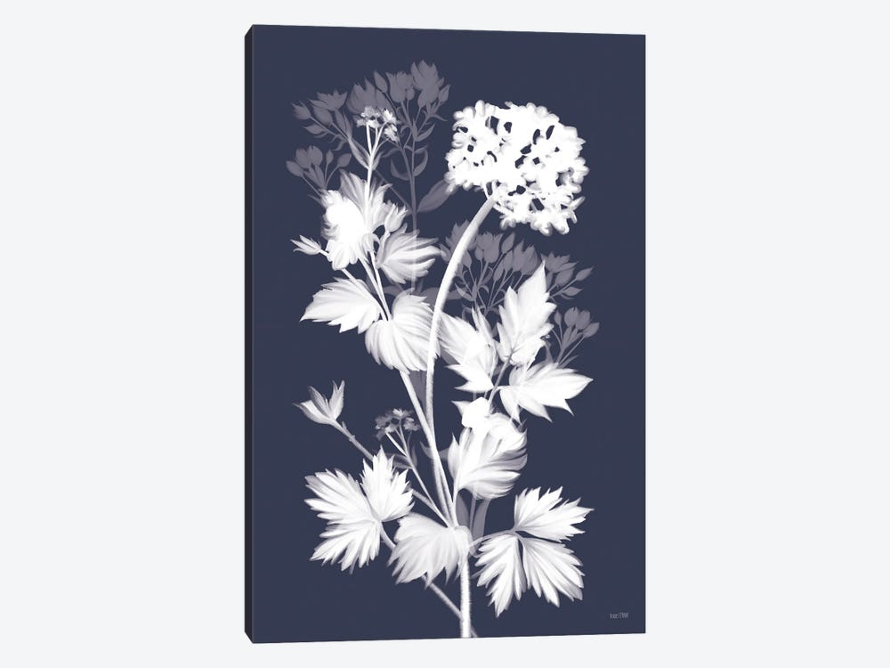 Blues In Bloom I by House Fenway 1-piece Canvas Artwork