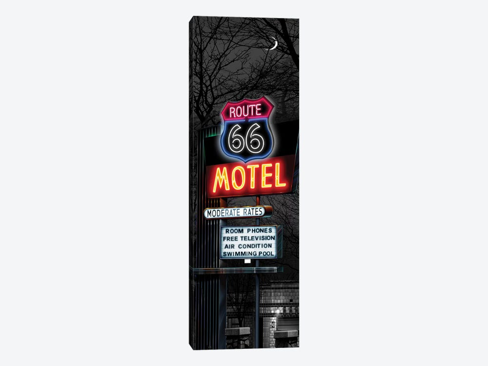 No Tell Motel I 1-piece Canvas Art