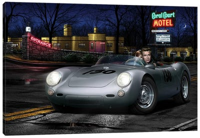 No Tell Motel II Canvas Art Print