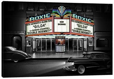 Roxie Canvas Art Print