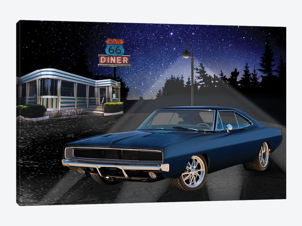 66 Muscle I 1-piece Canvas Art Print