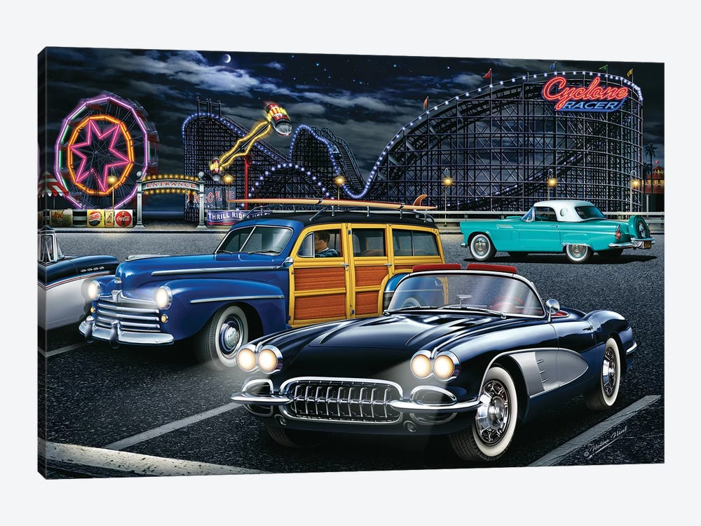 Cyclone Racer 1-piece Canvas Art Print