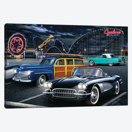 Cyclone Racer Canvas Print #HFL3} by Helen Flint Canvas Artwork