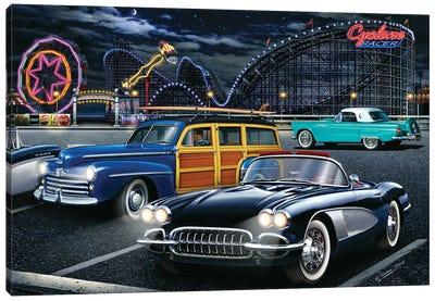 Cyclone Racer Canvas Art Print