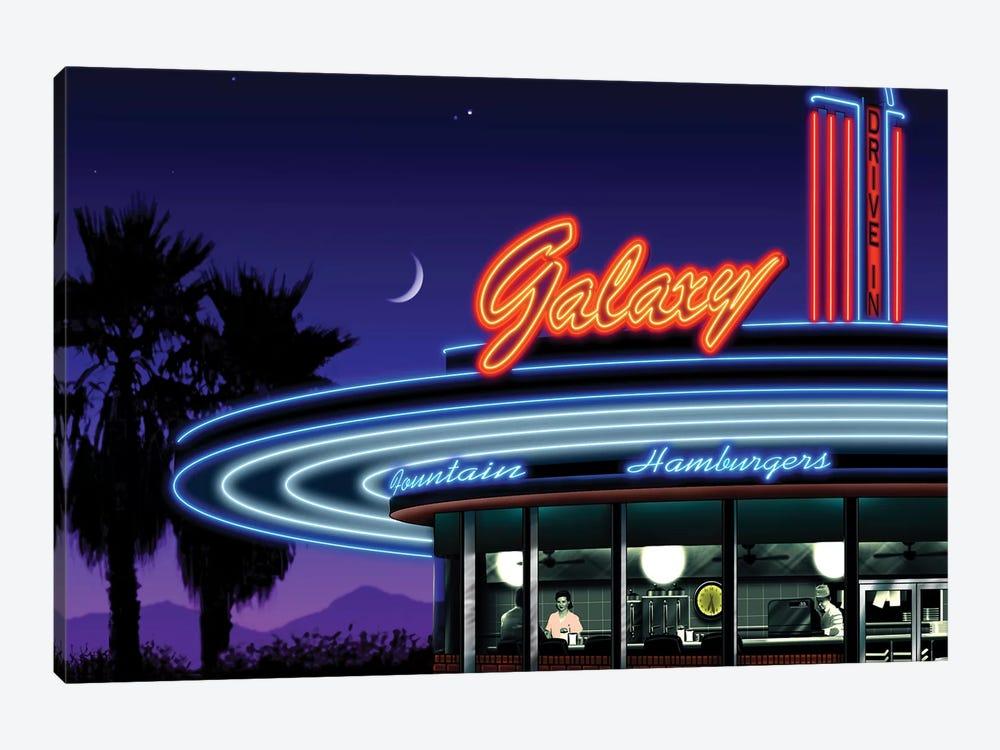 Galaxy Diner IV by Helen Flint 1-piece Art Print
