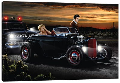 Joy Ride Canvas Art Print