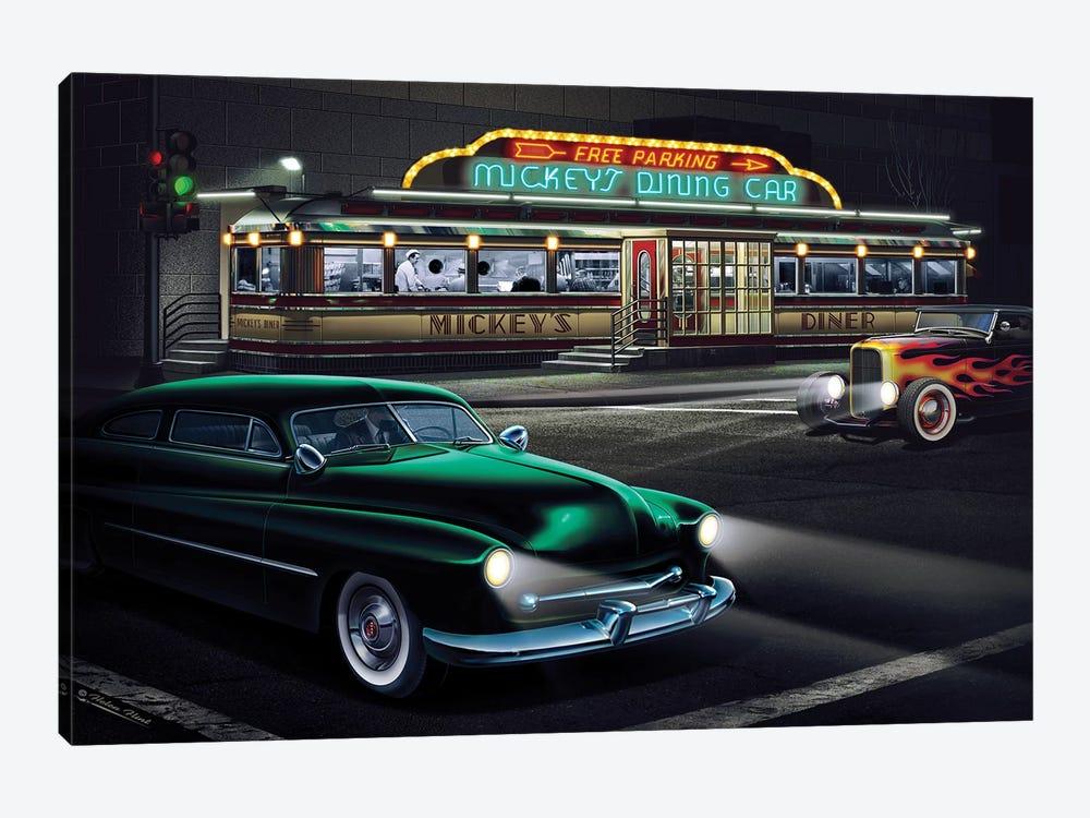 Mickey's Diner I by Helen Flint 1-piece Canvas Art Print