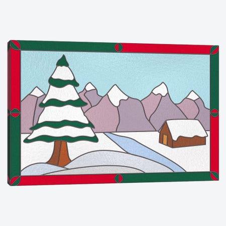 Snowy Terrain Canvas Print #HFN4} by 5by5collective Canvas Art Print