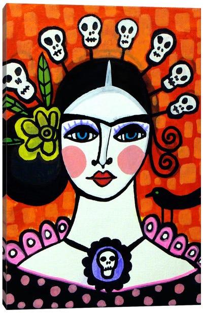 Day of the Dead VI Canvas Art Print