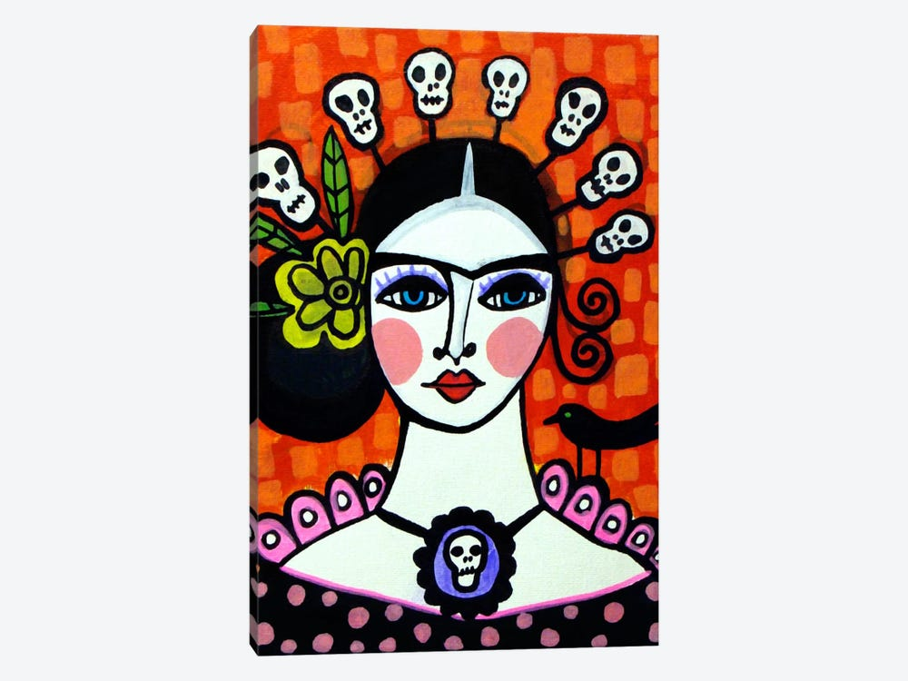 Day of the Dead VI by Heather Galler 1-piece Canvas Artwork