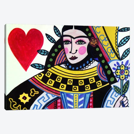 Frida II Canvas Print #HGL14} by Heather Galler Canvas Print