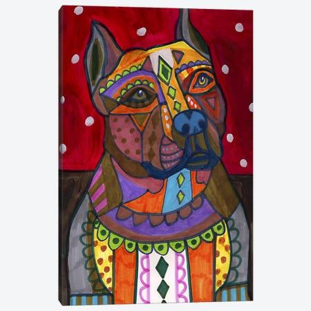 American Staffordshire Canvas Print #HGL19} by Heather Galler Canvas Artwork