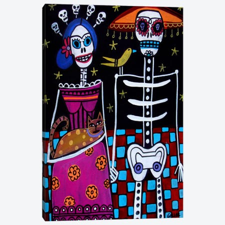 Day of the Dead  Canvas Print #HGL1} by Heather Galler Canvas Art Print
