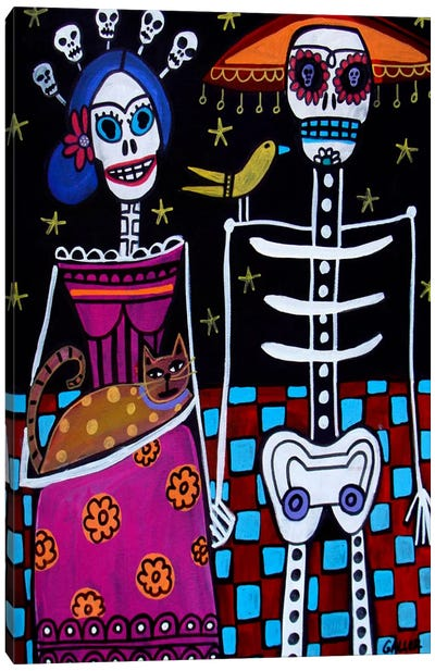 Day of the Dead  Canvas Print #HGL1