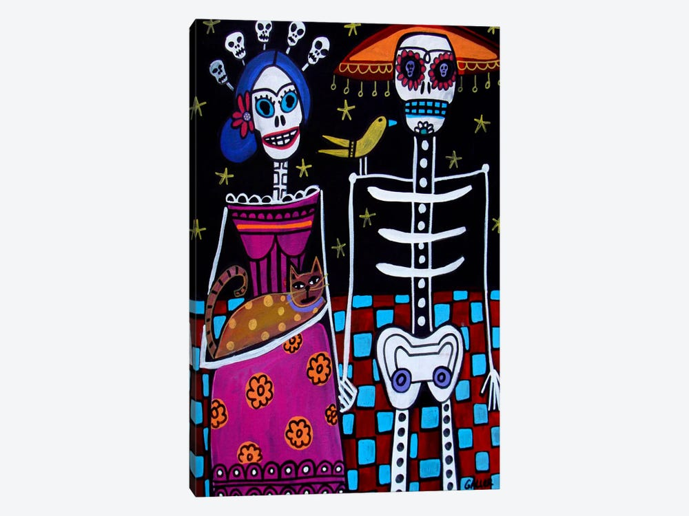 Day of the Dead by Heather Galler 1-piece Canvas Artwork