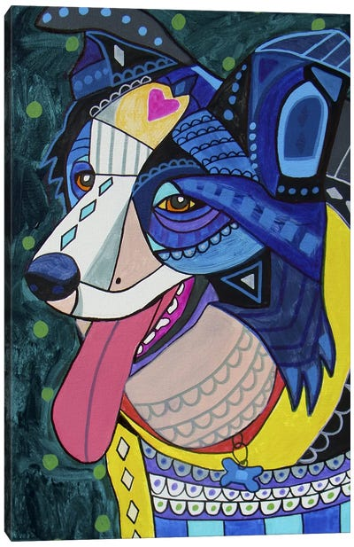 Border Collie 16 Canvas Art Print