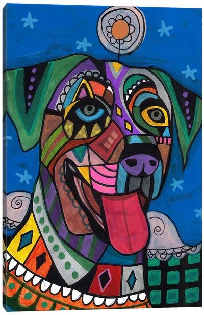 Catahoula Canvas Art Print