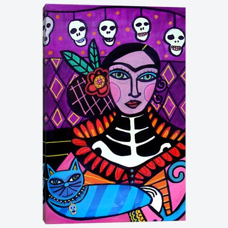 Day of the Dead II Canvas Print #HGL2} by Heather Galler Canvas Print