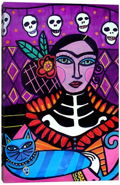 Day of the Dead II Canvas Art Print