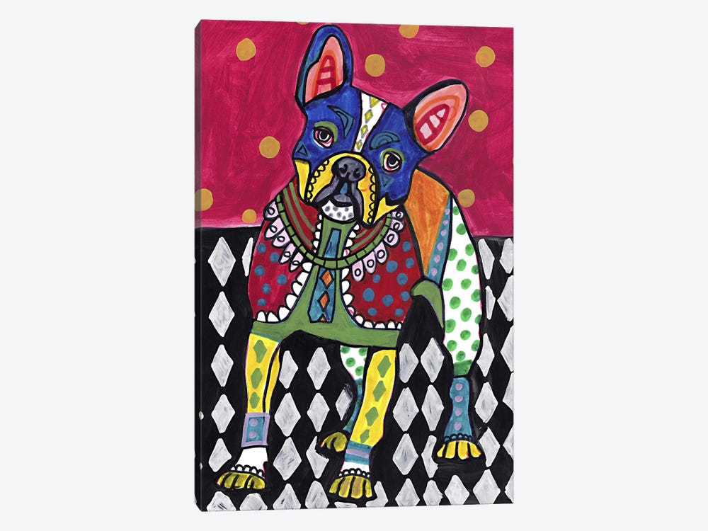 French Bulldog by Heather Galler 1-piece Canvas Art