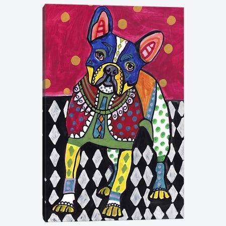 French Bulldog Canvas Print #HGL31} by Heather Galler Canvas Wall Art