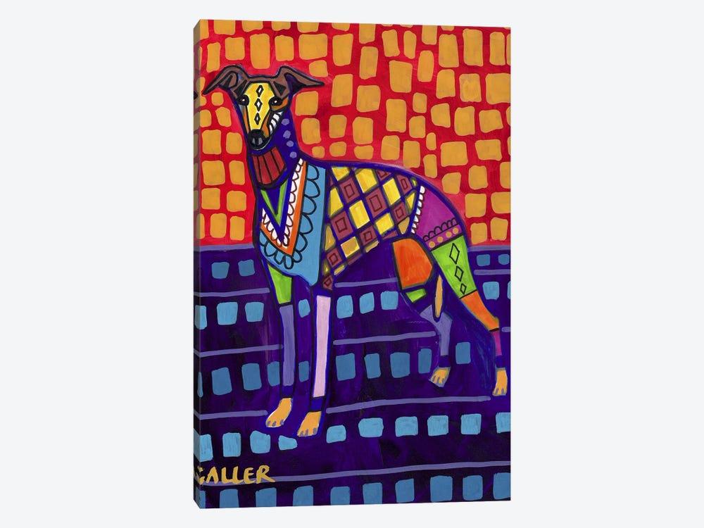 Greyhound Whip by Heather Galler 1-piece Art Print