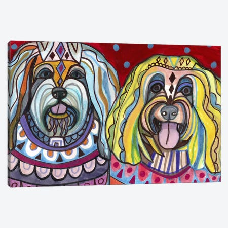 Havanese Canvas Print #HGL33} by Heather Galler Canvas Artwork