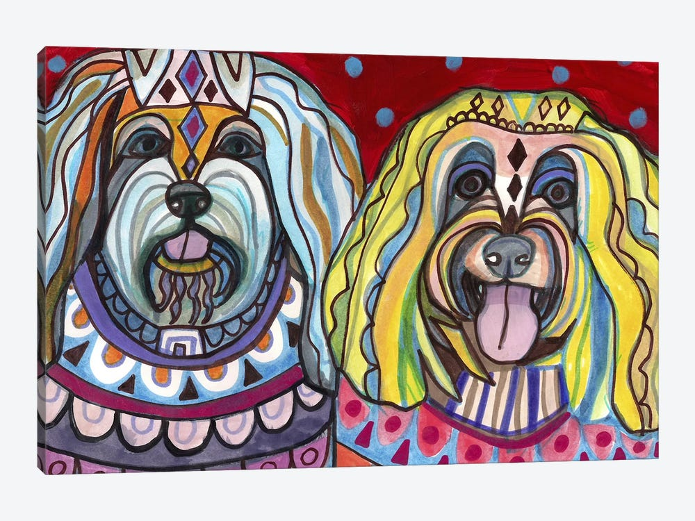 Havanese by Heather Galler 1-piece Canvas Wall Art