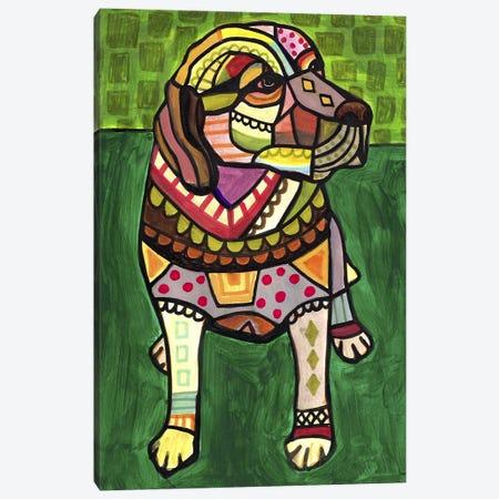 Labradors Labcom Canvas Print #HGL35} by Heather Galler Canvas Print