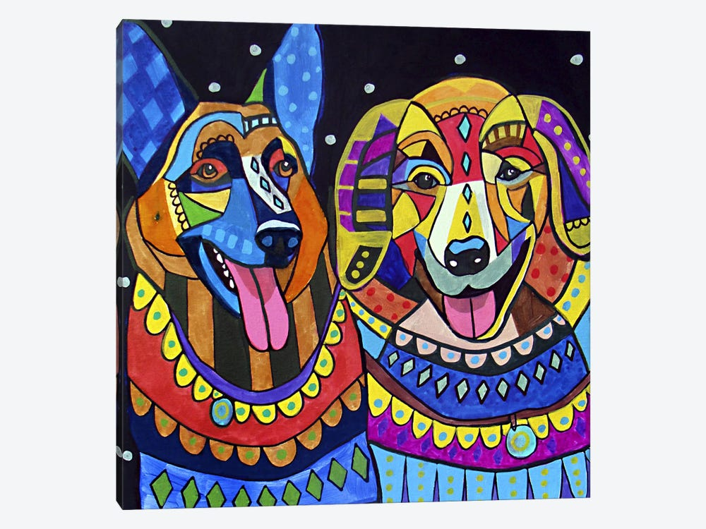 Shepgold by Heather Galler 1-piece Canvas Art