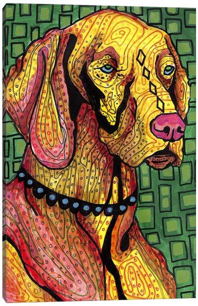 Vizsla Canvas Art Print