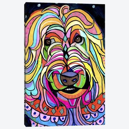 Wheaten Terrier Canvas Print #HGL45} by Heather Galler Canvas Art