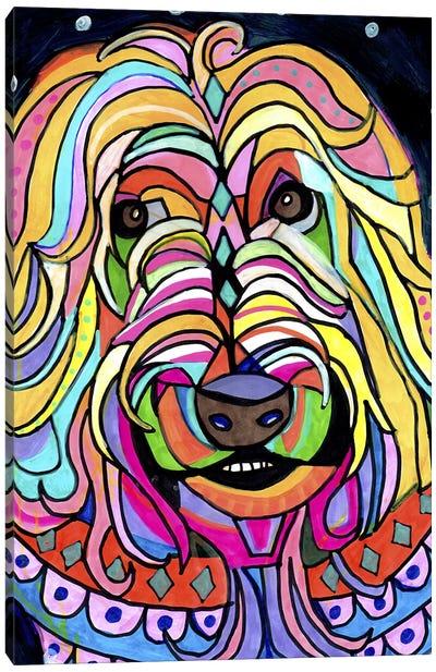 Wheaten Terrier Canvas Art Print