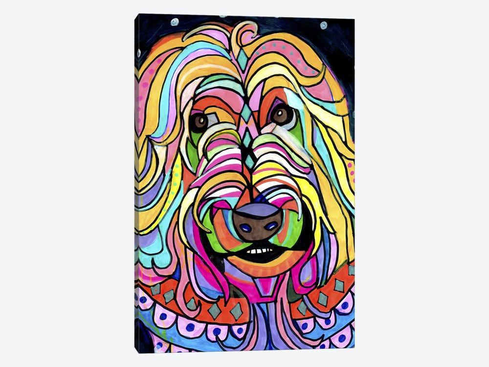 Wheaten Terrier by Heather Galler 1-piece Canvas Print