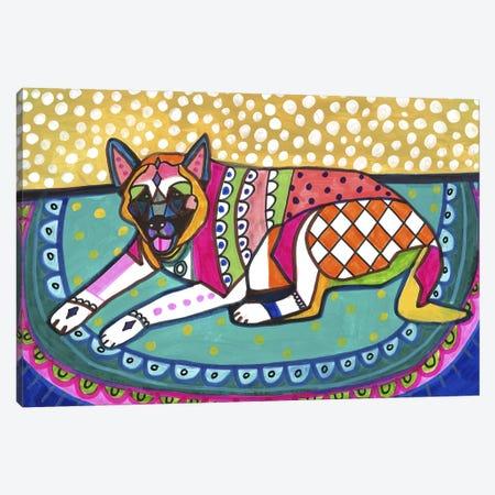 Akita 44 Canvas Print #HGL53} by Heather Galler Canvas Art